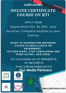RTI_Certificate Course_Poster