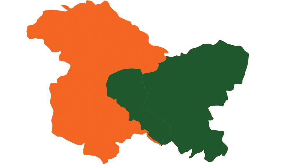 Jammu and Kashmir Ladakh Map