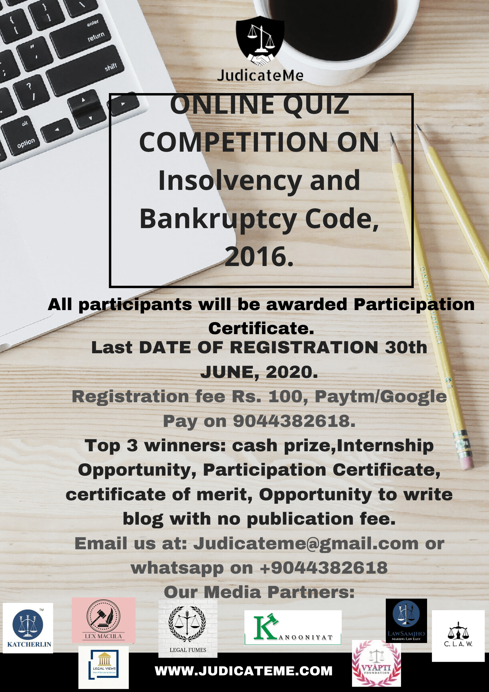 Result for Online Quiz Competition on IBC, 2016