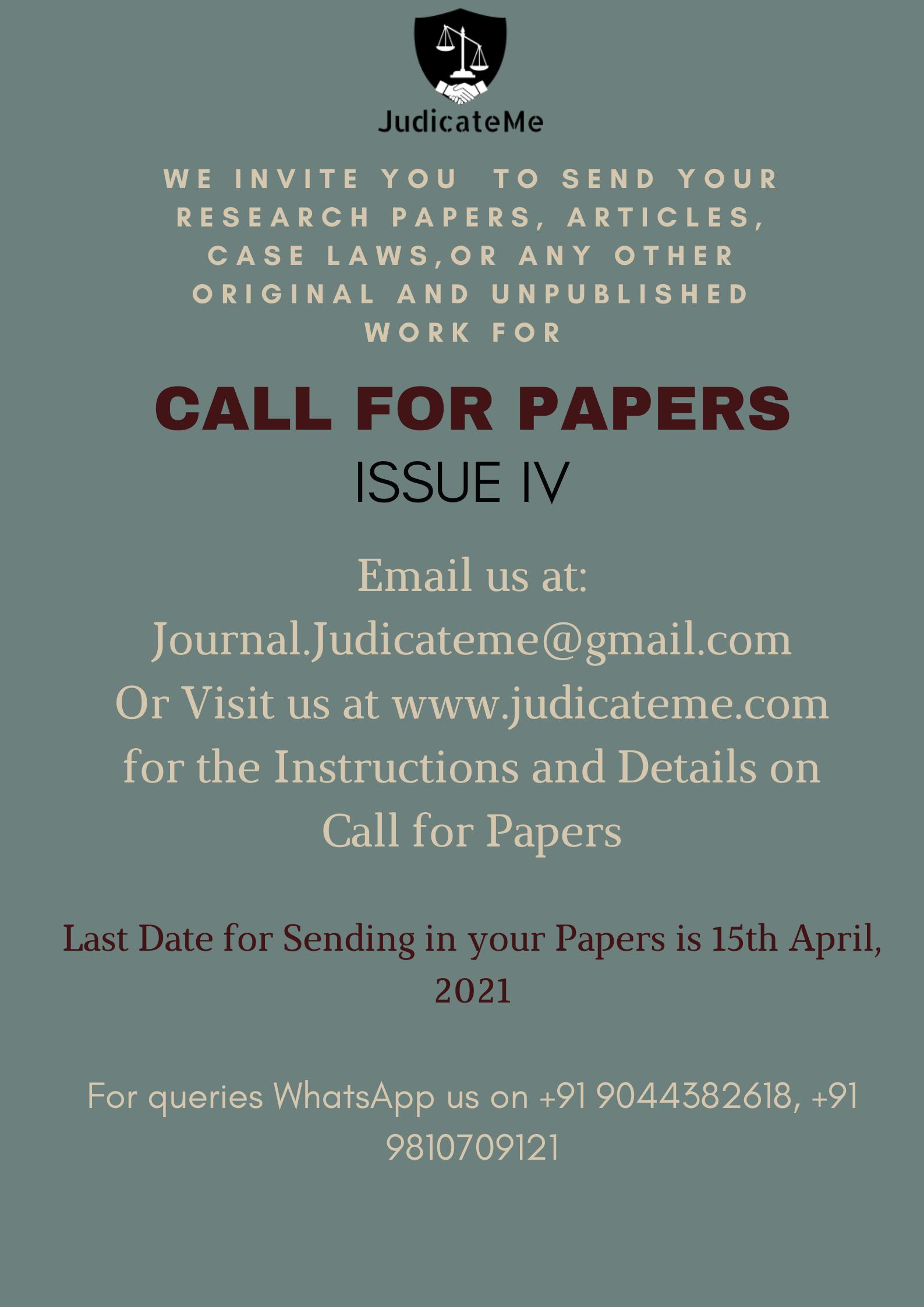 JM Issue IV